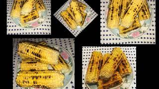 Maiskolben auf die Herdplatte mit Alufolie/Kukuruz na ringli sa folijom