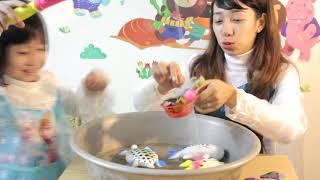 Chị Nhi Elsa chơi câu cá cùng bé Bống Elsa💗Đồ chơi trẻ em💗 Đồ chơi câu cá