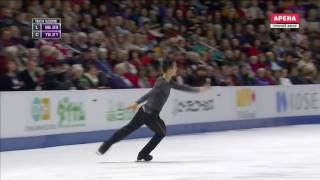 Patrick Chan FS 2016 Skate Canada
