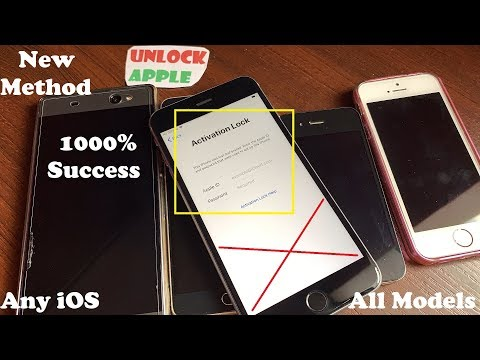 ICloud Unlock May 2019!!! Remove/Bypass ICloud Activation Lock✔Any IOS 7,8,9,10,11,12 1000% Working✔