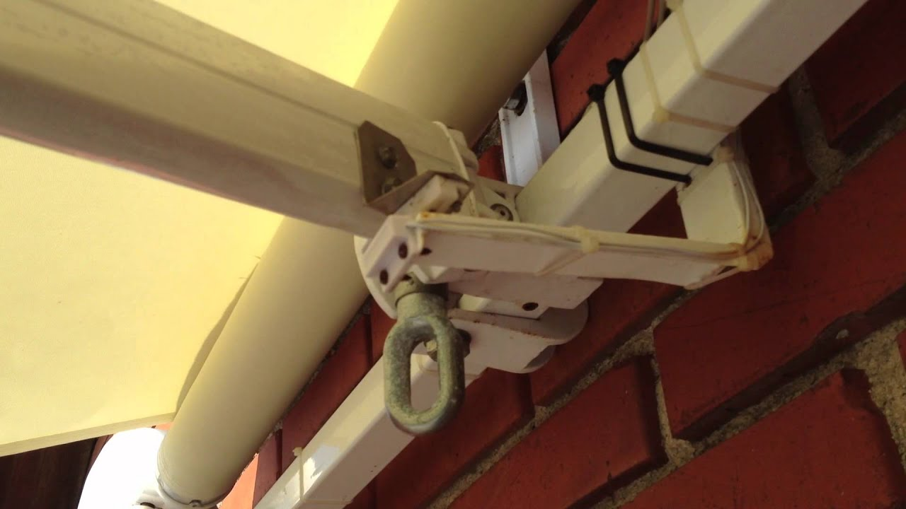 DIY electric awning - YouTube
