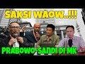 Waow Mengejutkan!!! Saksi Prabowo Sandi memberi kesaksian di MK, BW Usir Tim Hukum KPU