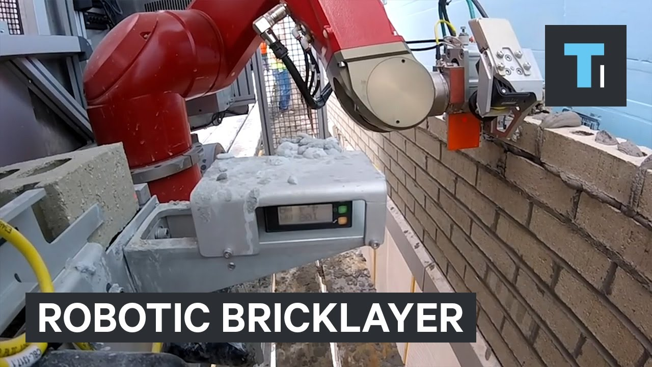 Robotic bricklayer builds houses 3x faster than humans