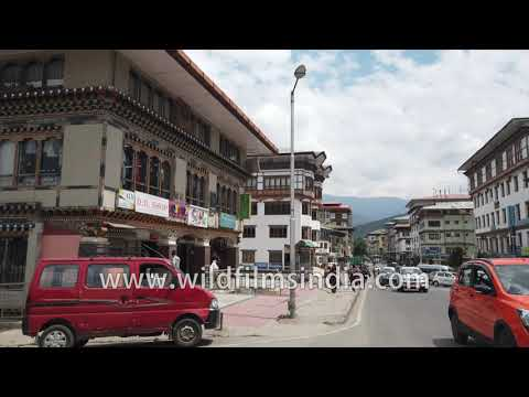 Walk through the largest city and capital of Bhutan | Thimphu