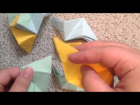 How to make paper polyhedrons.