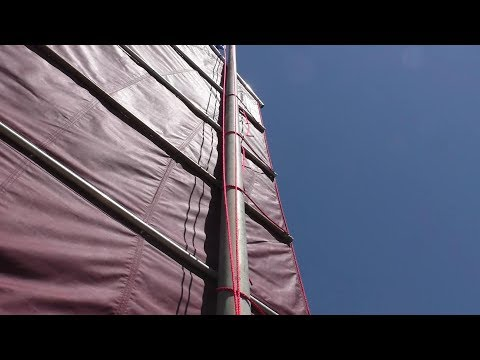 Junk Rig Sailmaking  - the Mizzen Sail