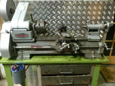 FOR SALE Myford ML10 Metal Turning Lathe eBay Demo Video
