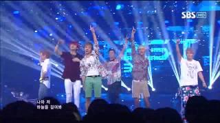 BEAST [Beautiful Night] @SBS Inkigayo Popular song 20120902