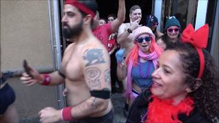 ⁴ᴷ Best Highlights Full Cupid's Undie Run 2019 In Freezing Temperatures - No pants, No problem – NYC