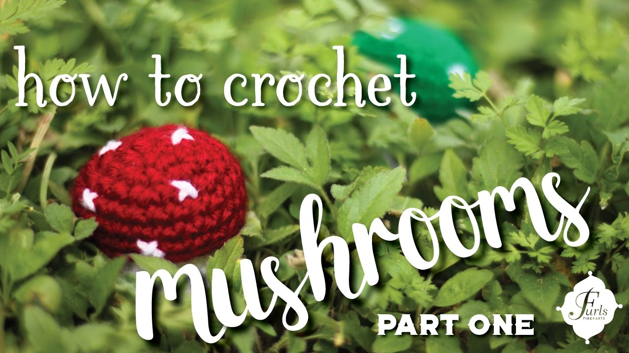 DIY Crochet Mushroom Lighter Holders - YouTube | 720x1280