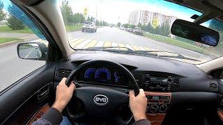 Byd F3 POV test drive