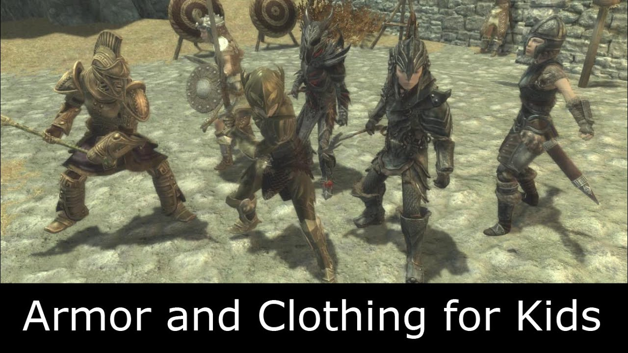 Skyrim Mod: Armor and Clothing for Kids