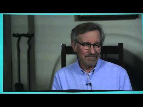 Steven Spielberg celebrates writer Tom Keneally