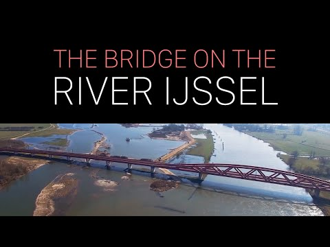 The Bridge on the River IJssel - Drone - DJI Phantom 3 Pro (4K)