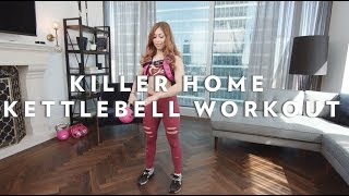 BodyRock's Total Body Kettlebell Workout