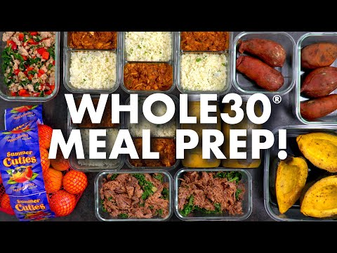 whole30-meal-prep-for-the-week!