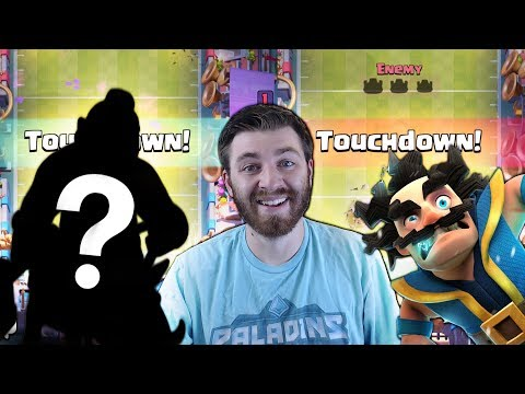 GET THIS AND WIN IN TOUCHDOWN EVERYTIME! (Almost) | Clash Royale | BEST TOUCHDOWN CARDS!