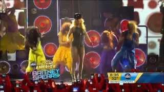 Britney Spears - Big Fat Bass (feat. will.i.am) (Good Morning America 2011)