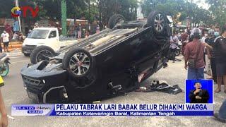 Pengemudi Mabuk, Mobil Tabrak Motor TNI di Kalimantan Tengah - BIS 28/12