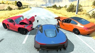 Deadly Car Crashes #6 - BeamNG Drive Crash Testing