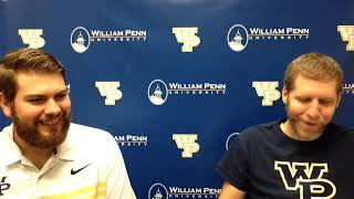 William Penn Athletics Peter Frederiksen Interview 9-28-18