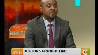 Power Breakfast News Review : Doctors crunch time