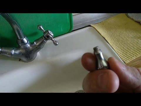 Элементарный ремонт ручки смесителя.