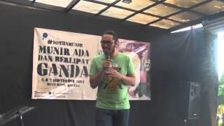 SCENE 5: Stand Up Comedy Sahabat Munir
