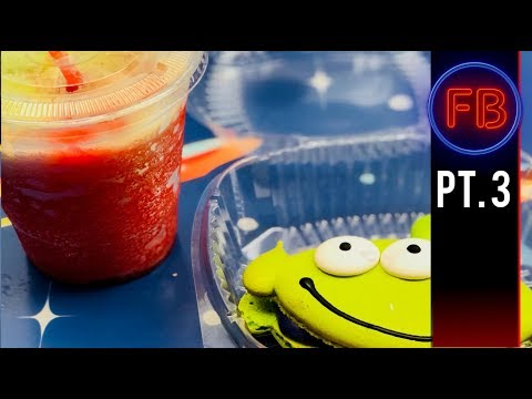 Fun with Little Green Slushies at Pizza Planet 04/21/18 pt 3 (4K)