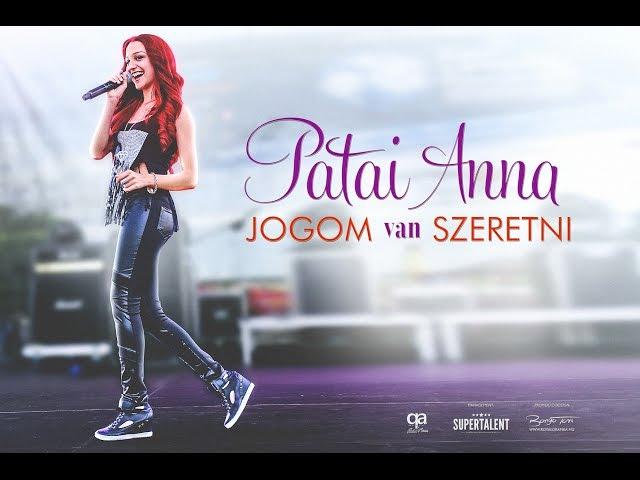 Patai Anna - Jogom van szeretni