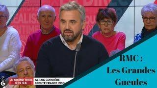 Alexis Corbière Les grandes gueules sur RMC :