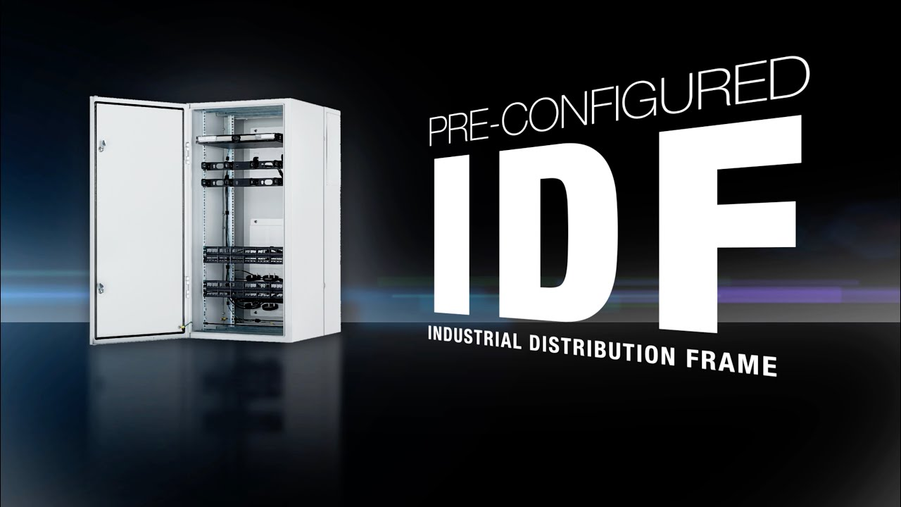hight resolution of pre configured industrial distribution frame idf