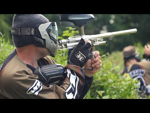 2017 IRON CITY CLASSIC - throwback paintball event - Old School!