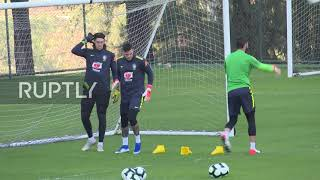 Brazil: Brazilian football team gears up for clash with Argentina