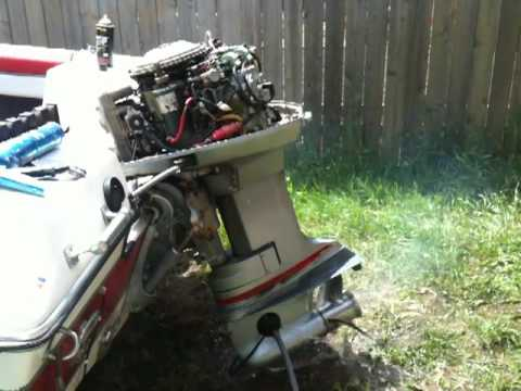 Force Outboard Ignition Wiring Diagram 1974 Evinrude 115 Runs Poorly And Misfires Youtube