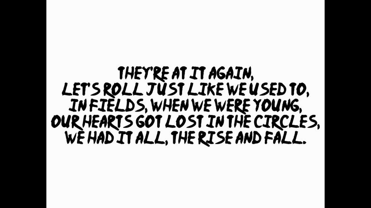 Let's Roll Just Like We Used To by Kasabian Lyrics - YouTube