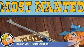 Most Wanted — game overview at Gen Con 2018