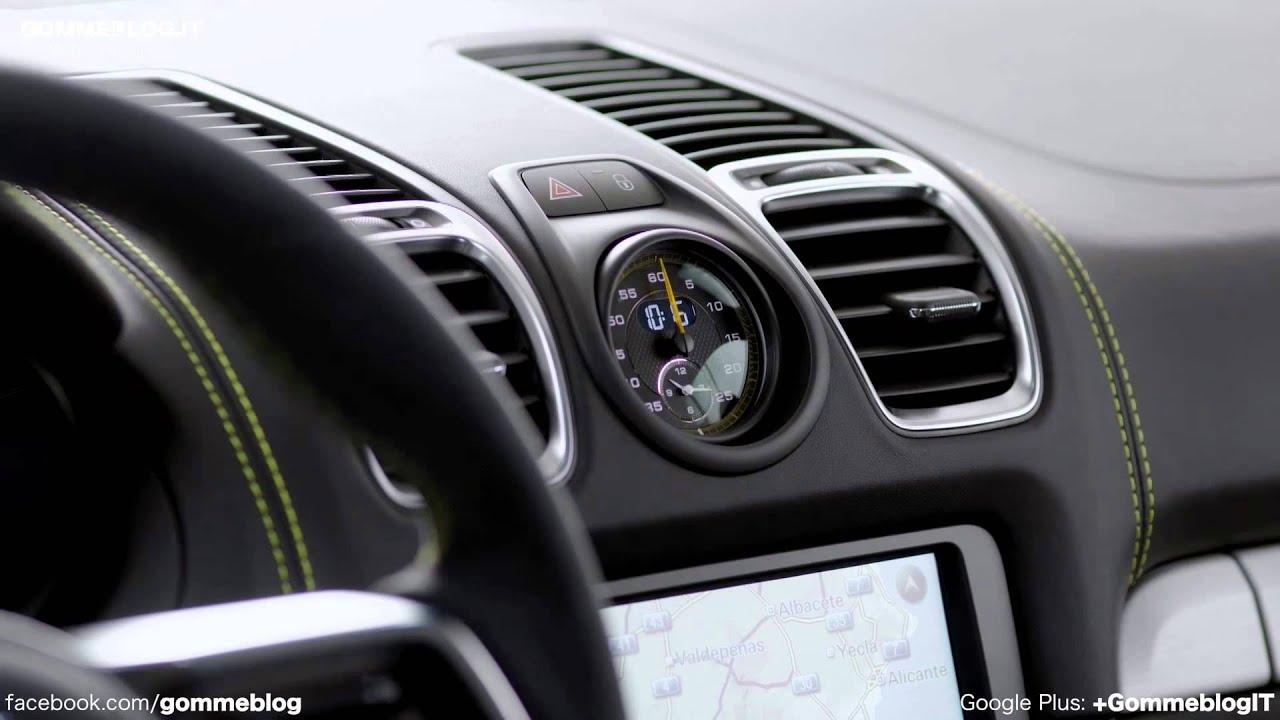 porsche cayman gt4 interior design - 2015 Porsche Cayman Gt4 Interior