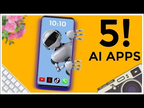 TOP 5 Best Artificial Intelligence Apps For Android 2019 | AI Apps Android