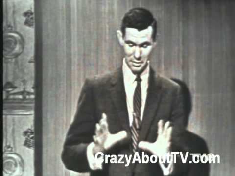 "Johnny Carson Goofs Up an Old TV Commercial on His TV Show ""Who Do You Trust?"""