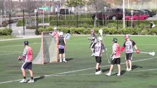 South Bay lacrosse vs Newport highlights March 24 2012.mov