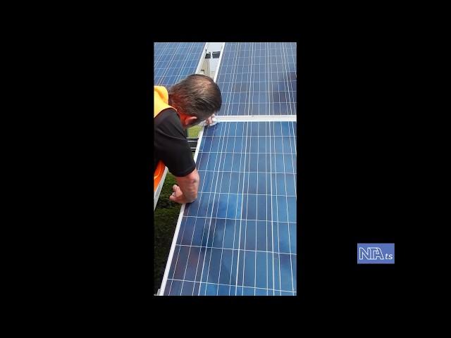 Tarattamento pannelli solari con nanomateriali