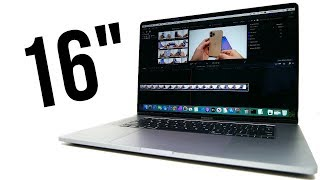 MacBook Pro 16 First Impressions!