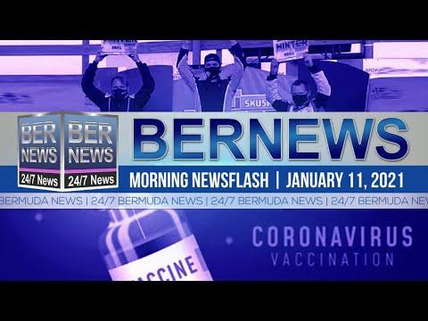 Bermuda Newsflash For Monday, Jan 11, 2021