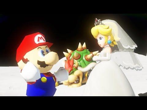 Classic Mario 64 Vs Final Boss - Super Mario Odyssey