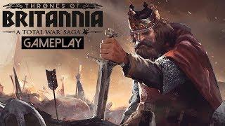 Total War Saga: Thrones of Britannia Gameplay (PC HD)