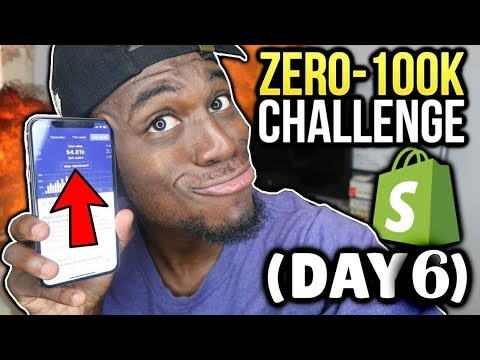 DAY 6: FIRST Facebook Ads Strategy 2019 (Zero To $100k Shopify Challenge)