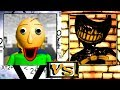 Baldi's Basics vs Bendy