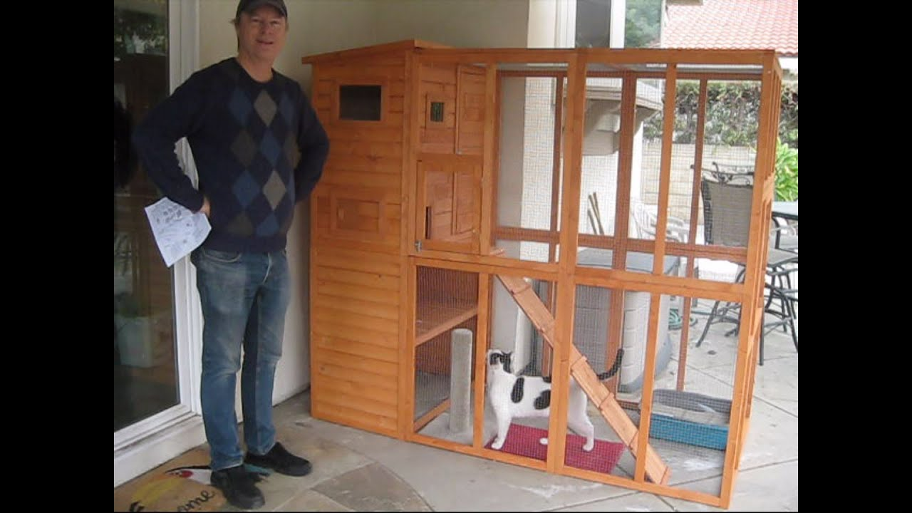 pawhut catio outdoor cat enclosure review