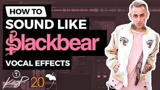 How To Sound Like BLACKBEAR | Vocal Effect Tutorial | FL Studio [STOCK PLUGINS]